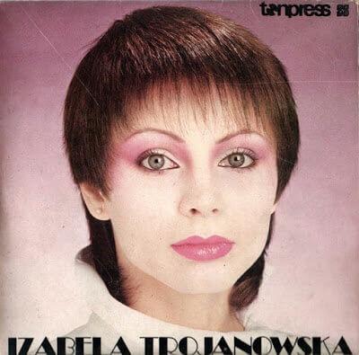 Izabela Trojanowska - IZA okładka albumu