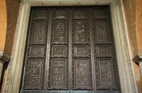 El Maestro Quir 243 N La Puerta De La Bas 237 Lica De Santa Sabina
