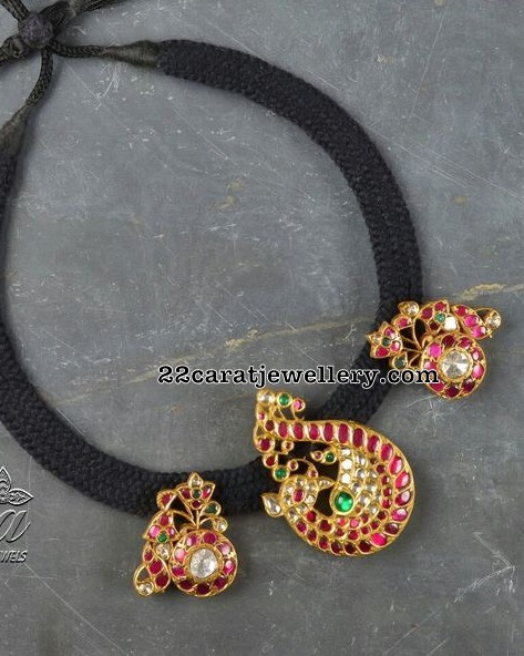 Black Thread Set from Tibarumal Jewellers