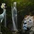 El león y la grulla Fabula de la India