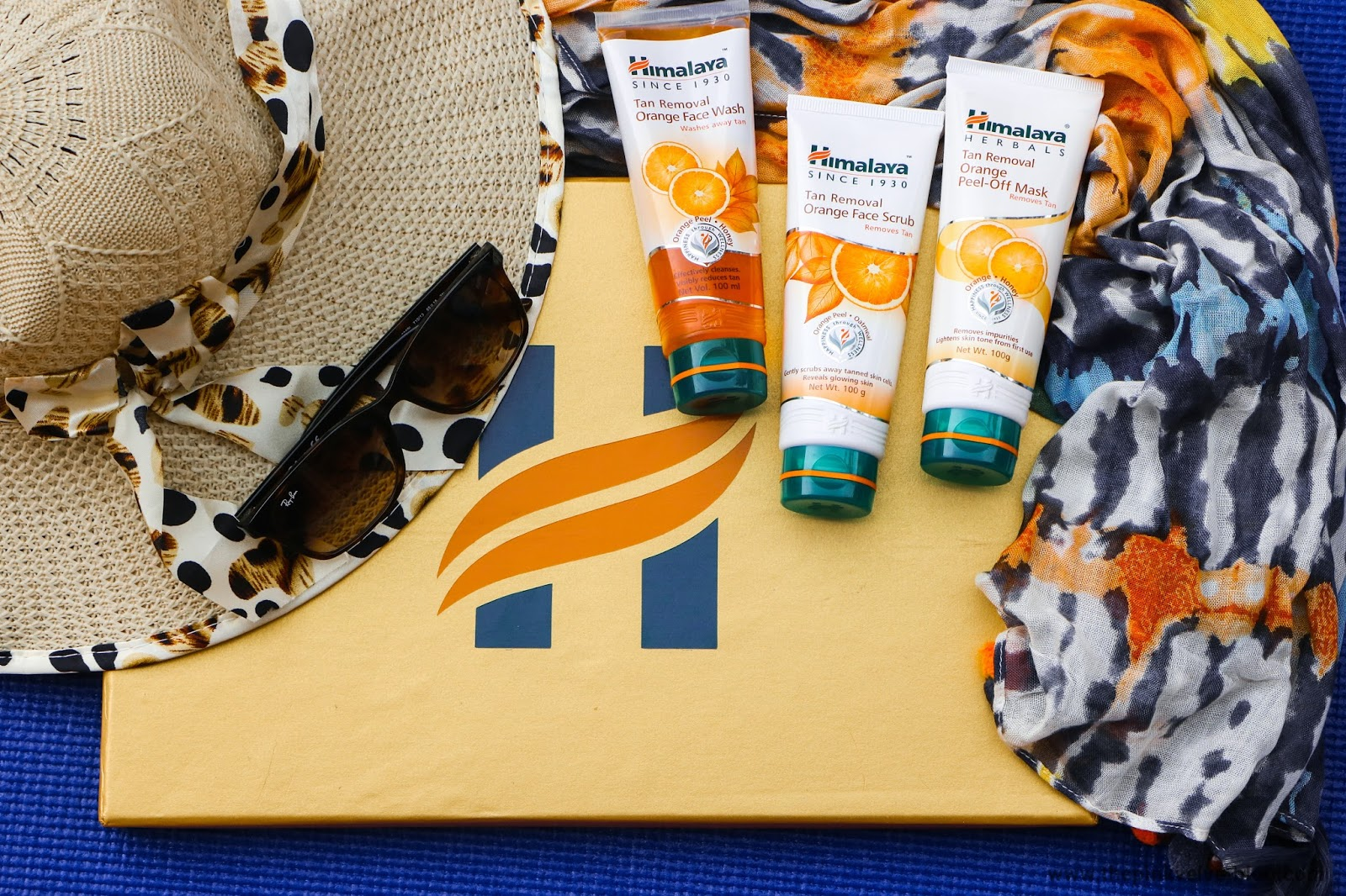 Himalaya Herbals Orange Tan Removal Range