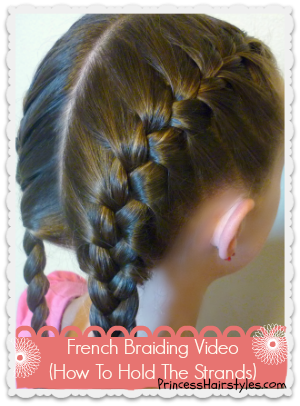 How To French Braid Hairstyles For Girls Princess Hairstyles