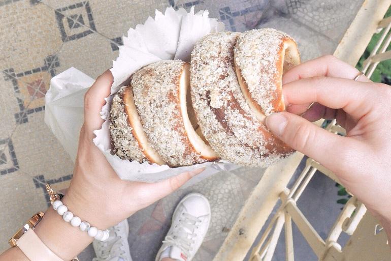 Pâtisserie casher à Budapest pour goûter les kurtoskalacs : Fröhlich kóser