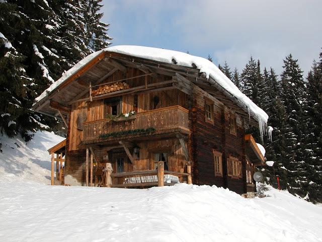 Berghütte Skihütte