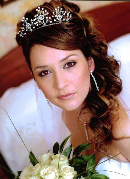 wedding hairstyles princess bridal