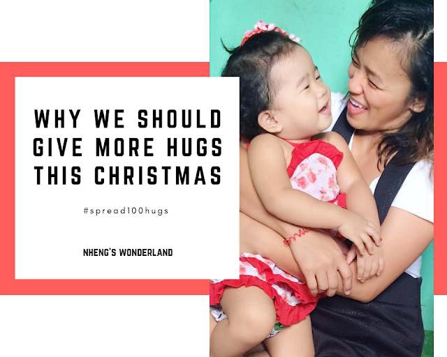 Why We Should Give More Hugs This Christmas #Spread100Hugs