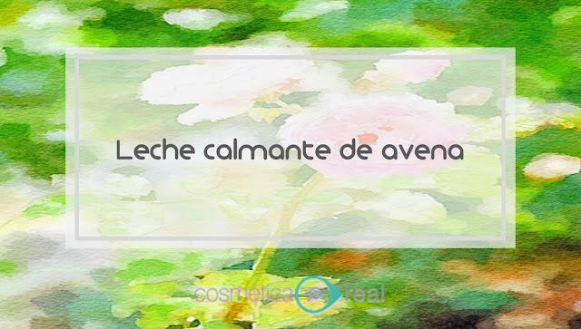 Leche calmante de Avena