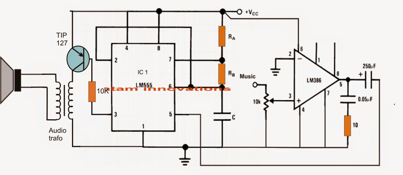 class e amplifier circuit diagram