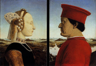 Della Francesca's diptych of the Dukes of Urbino