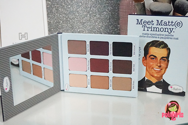 Paleta Meet Matt(e) Trimony de The Balm