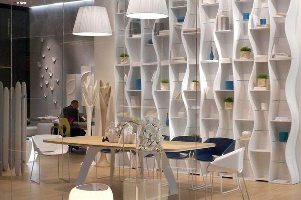 Libreria design modulare onda design angelo tomaiuolo by for Angelo case mobili