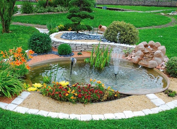 Laghetto la costruzione di un giardino acquatico 3 for Laghetti artificiali per giardino