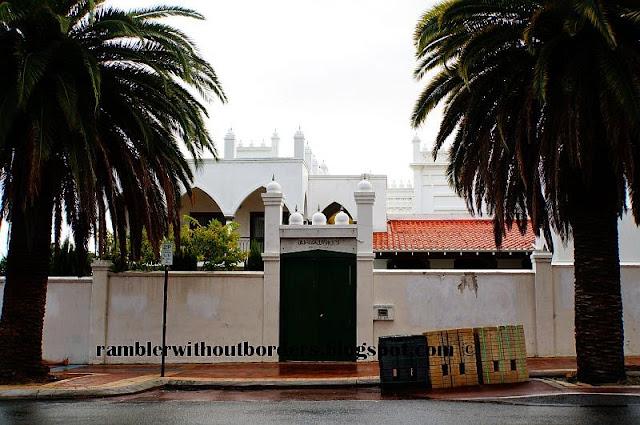 Perth Mosque, Northbridge, Perth, WA, Australia