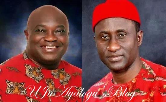 Abia: Decision day for Ikpeazu, Ogah