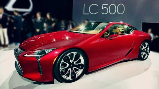 2017 Lexus LC 500 Price