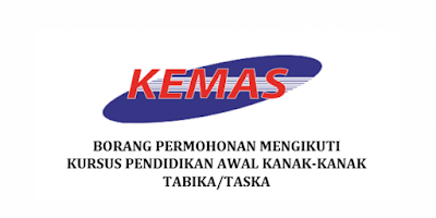 Permohonan Guru Tabika KEMAS 2019 Online