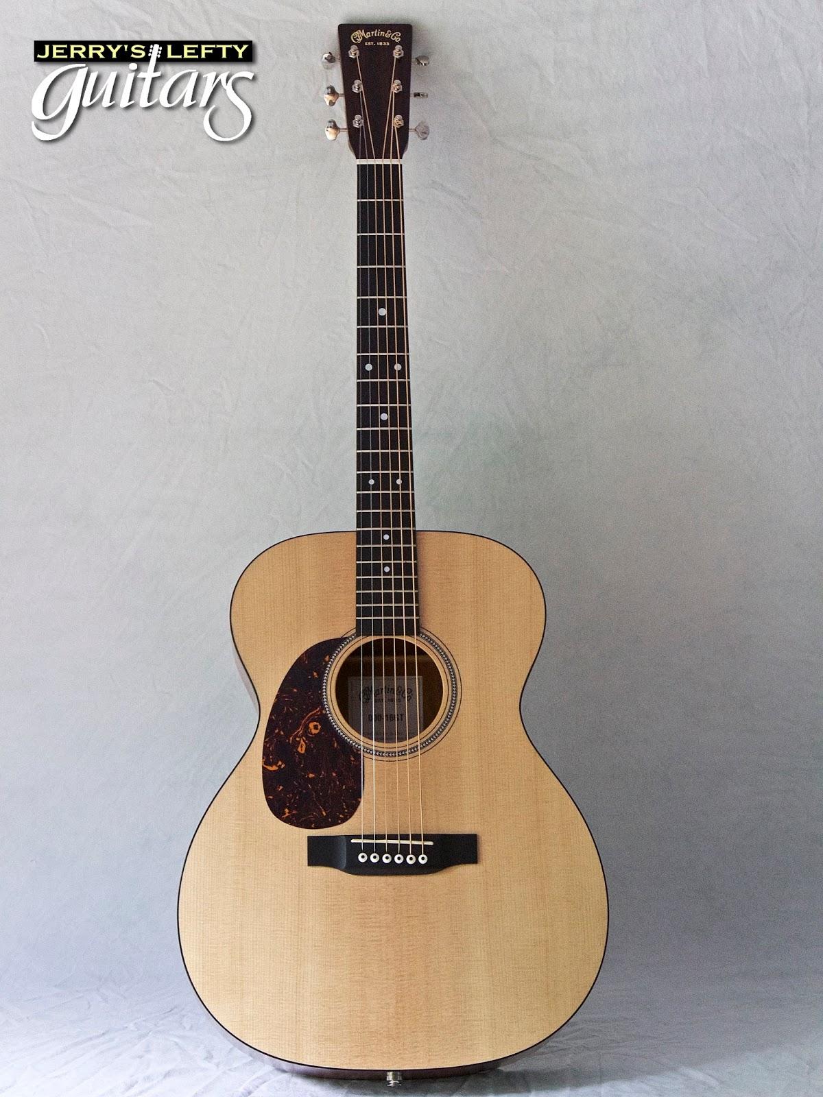 jerry 39 s lefty guitars newest guitar arrivals updated weekly martin 000 16gt used left handed. Black Bedroom Furniture Sets. Home Design Ideas