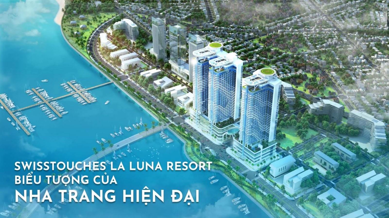 Khu nghỉ dưỡng 5 sao đẳng cấp Swisstouches La Luna Resort tại Nha Trang