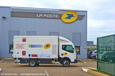 Renault Maxity Electric, La Poste