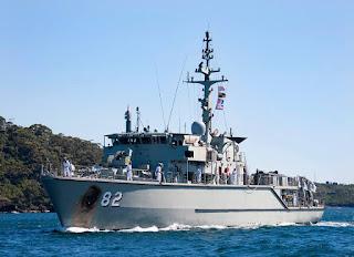 Huon Class Royal Australian Navy