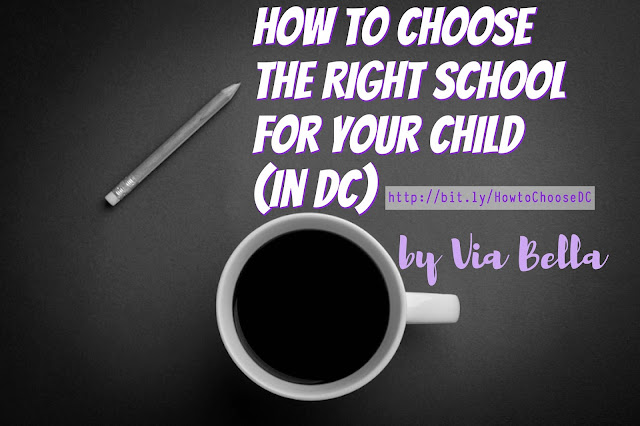 How to choose the right school for your child in DC, An Easy Quick Guide to School Choices (in Washington DC), Washington DC Schools, DCPS, DCPCS, FPCSO, Choosing a school, Private Schools, Charter Schools, Public Charter Schools, Public School, Homeschooling, What is the difference between public school and charter school, An easy guide to help you choose your school, children, OSSE, children's education, be empowered as a parent, DC education system, Via Bella
