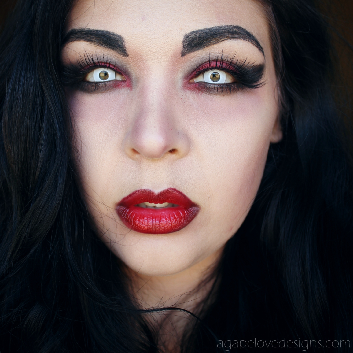 Agape Love Designs: Easy Vampire Makeup Tutorial (Video)