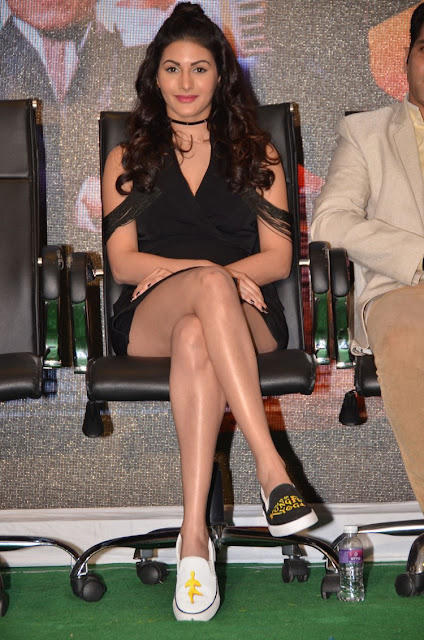 Amyra Dastur Hot Images at Kung Fu Yoga Press Meet