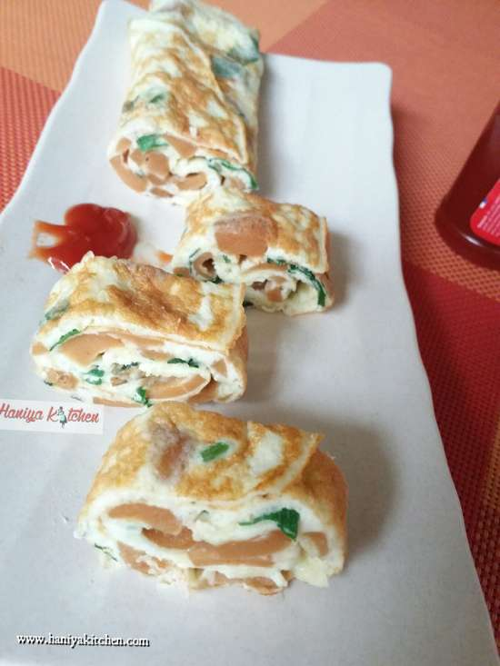 Resep Omelet Gulung Keju