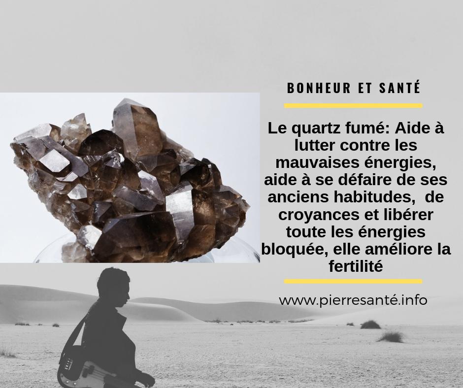 Le quartz fumé, la pierre qui favorise le sens de responsabilité