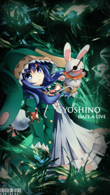 Yoshino Date A Live Wallpaper