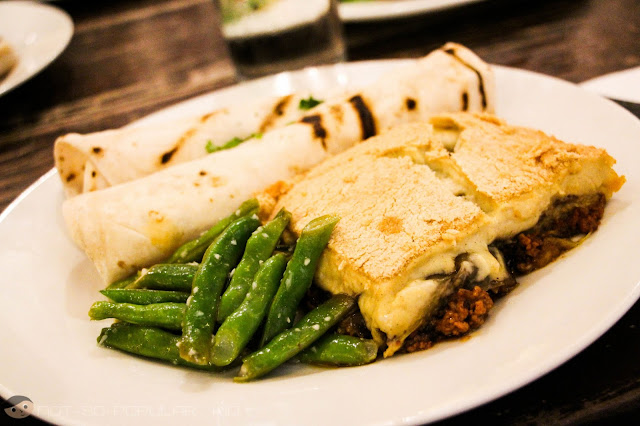 Fascinating Moussaka of Cafe Mediterranean