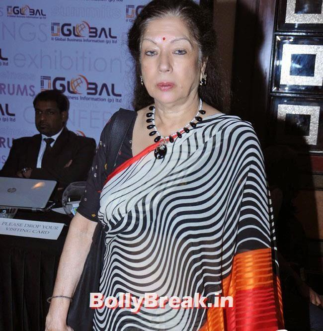 Yash Kohli, Vishakha Singh in White Dress at Women Leaders In India Summit