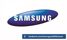 Lowongan Kerja Terbaru Cikarang PT Samsung Electronics Indonesia (SEIN)