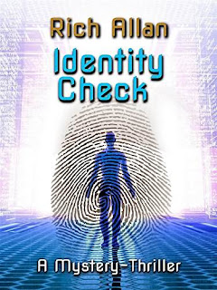 Identity Check - a political thriller book promotion Rich Allan