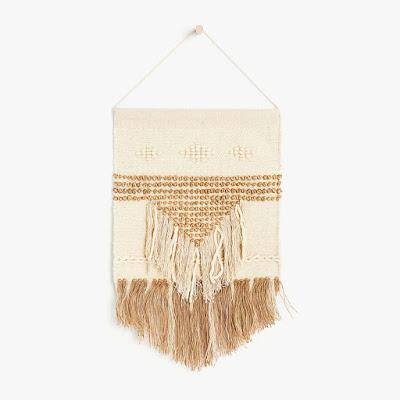tapiz tejido lana para decorar