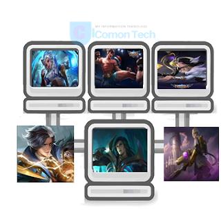 Inilah 6 Hero Mobile Legend Yang Tersakit dan Hero OP Di Tahun 2019