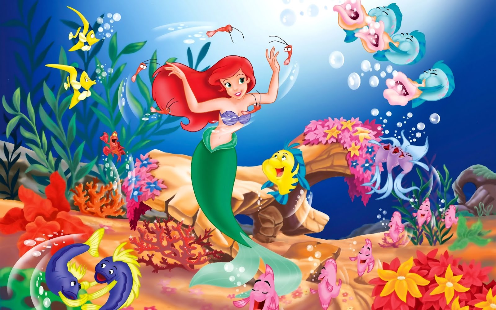 Iphone Wallpaper Disney The Little Mermaid