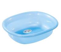 A Blue Plastic Basin