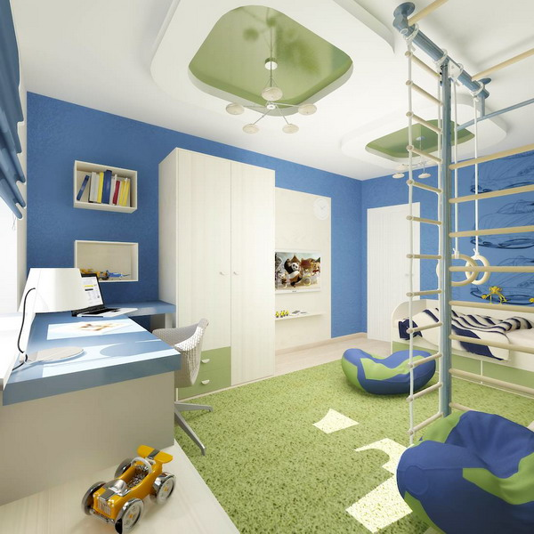 Bright Interiors Children's Rooms And Cool Designs For