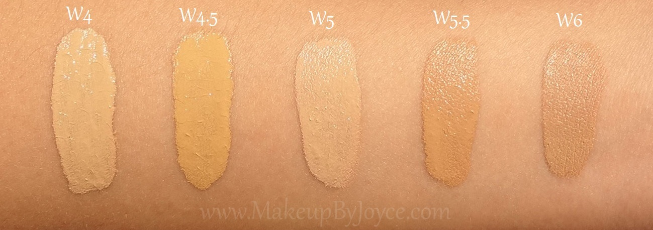 Makeupbyjoyce Swatches Comparison Loreal True Match