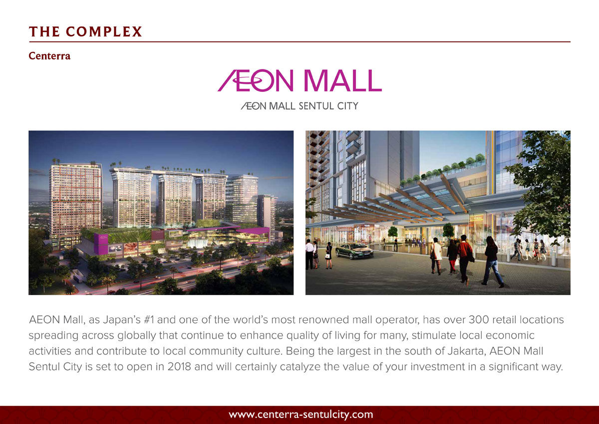 Apartemen AEON Mall Sentul City