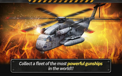 GUNSHIP BATTLE : Helicopter 3D Apk Screenshot 1