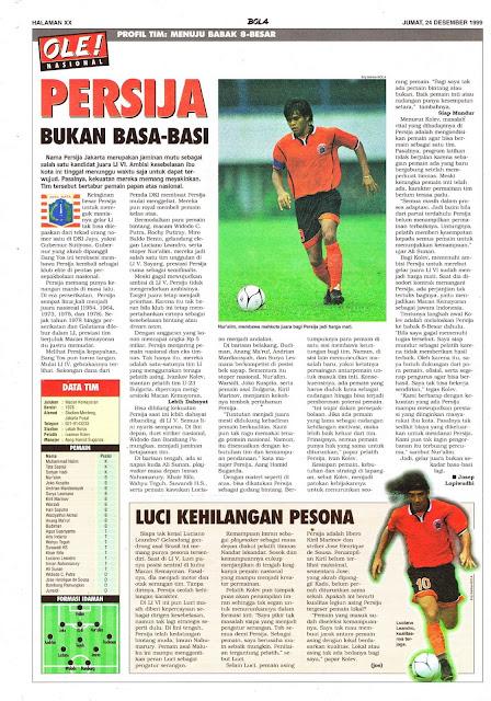 PROFIL TIM PERSIJA JAKARTA