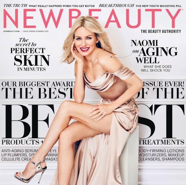 Naomi Watts – New Beauty Magazine