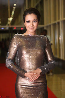 Actress Catherine Tresa in Golden Skin Tight Backless Gown at Gautam Nanda music launchi ~ Exclusive Celebrities Galleries 073.JPG