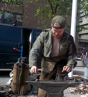 Worldcon75 Helsinki Blacksmith