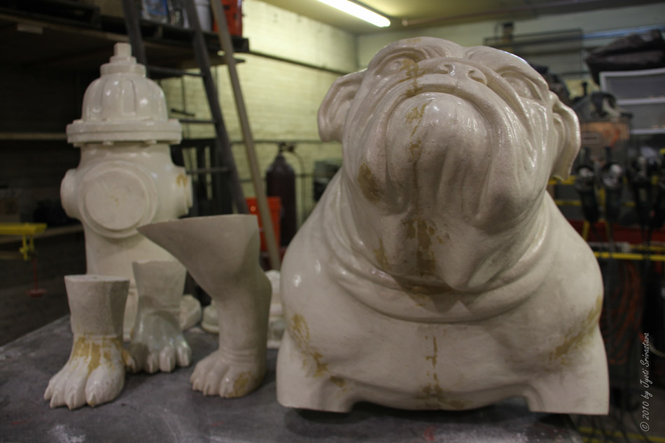Public Art In Chicago The Making Of Quot Bulldog And Hydrant