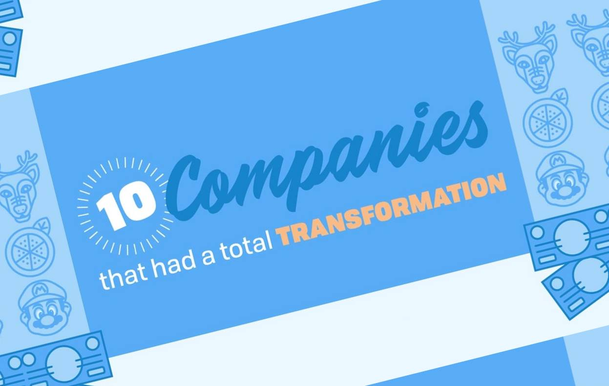 You Won't Believe How These 10 Famous Companies Started Out [INFOGRAPHIC]