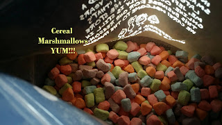 gotta love cereal mallows, sweet tasty goodness that melts in your mouth
