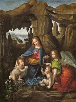Madonna of the Rocks - (after) Leonardo da Vinci